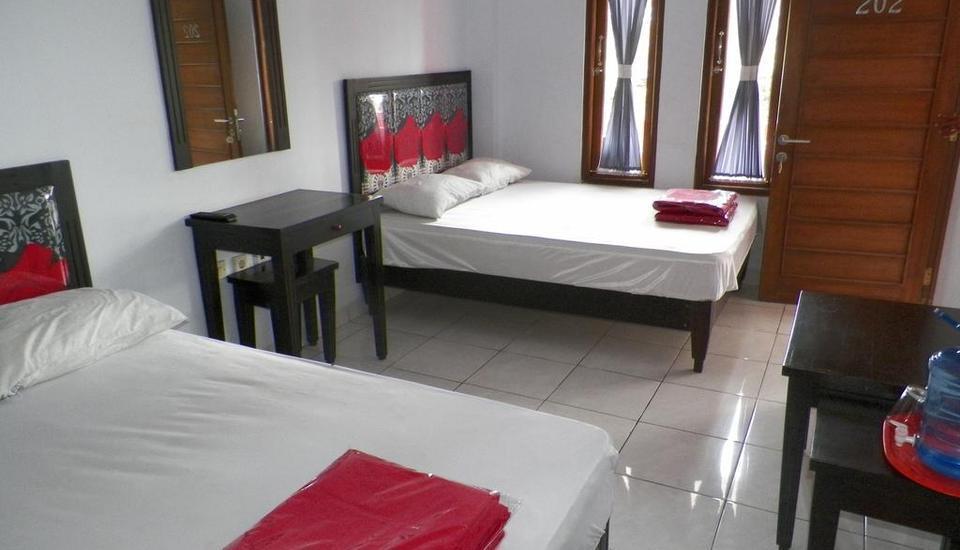 Rose Inn Hotel Pangandaran - Kamar tamu
