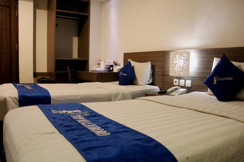 Kamar penginapan di TOP Malioboro Hotel Yogyakarta