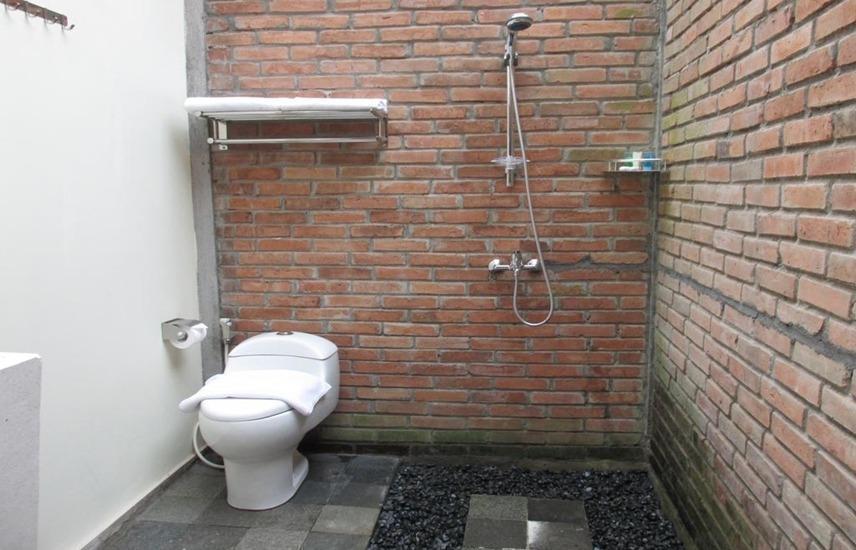 Cempaka Villa II Magelang - Kamar mandi