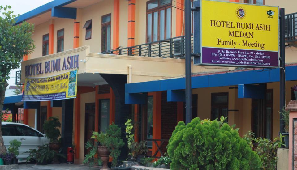 Hotel Bumi Asih Medan - Tampak depan hotel