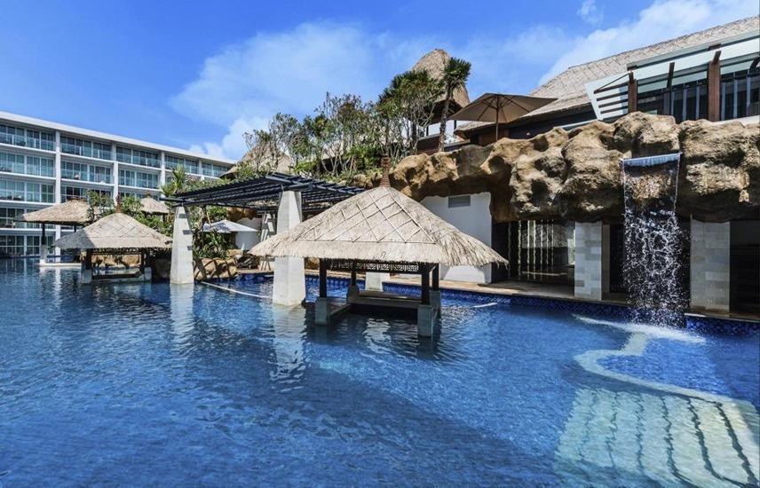 The Sakala Resort Bali - All Suites Bali - Kolam Renang