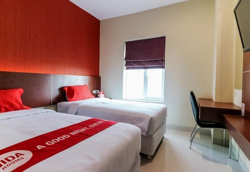 NIDA Rooms Racing Center Makassar - Double Room Double Occupancy Special Promo