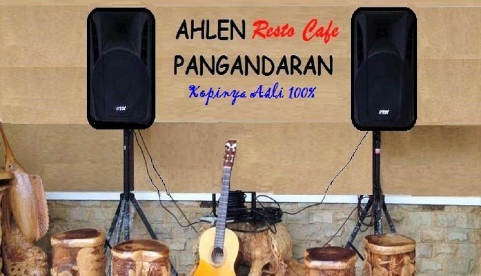 Wisma Ahlen Pangandaran Pangandaran - Kopi java bali asli 100%, Tukang kopinya berpengalaman.