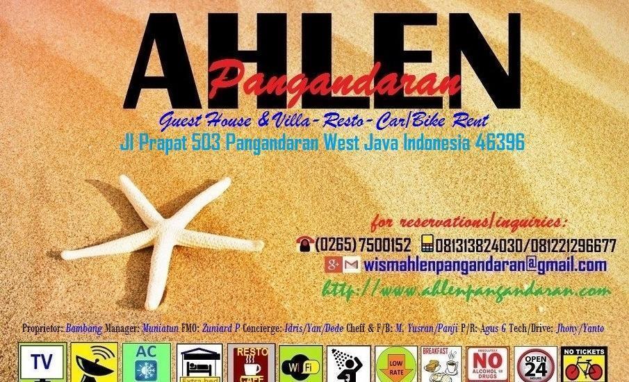 Ahlen Pangandaran - KARTU AHLEN