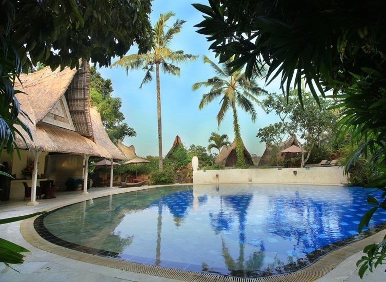 The Jungle Retreat Bali - Pool View Family Suite Regular Plan
