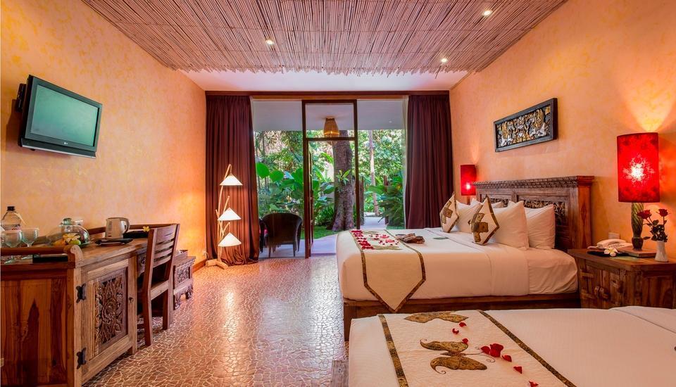 The Jungle Retreat Bali - Deluxe Grande Suite Basic Deal 48%