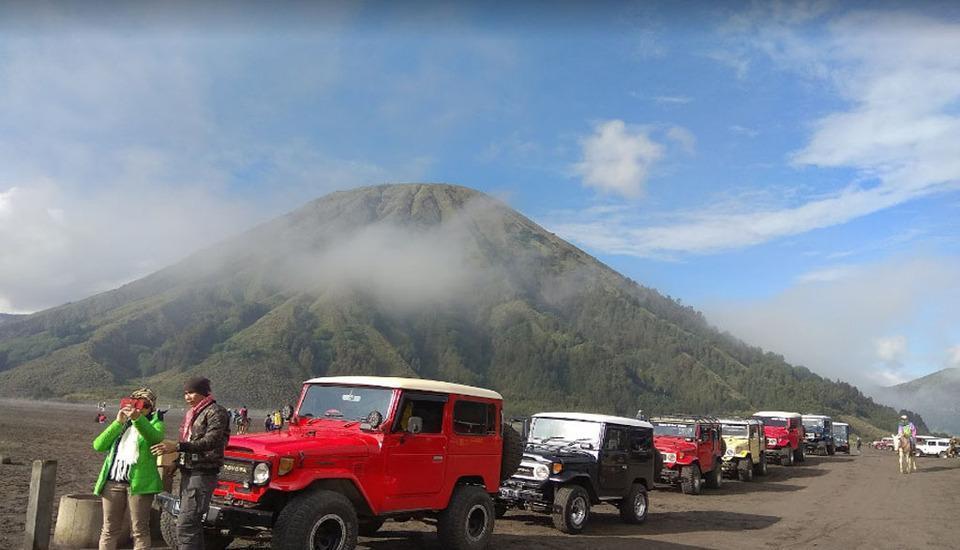 Penginapan Kaldera Bromo Probolinggo - View Bromo