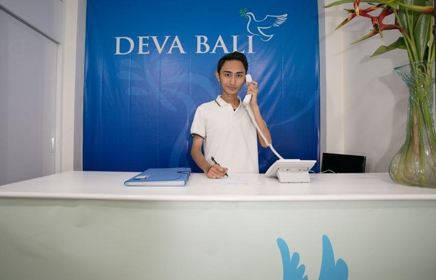 Deva Bali Apartment Bali - Resepsionis
