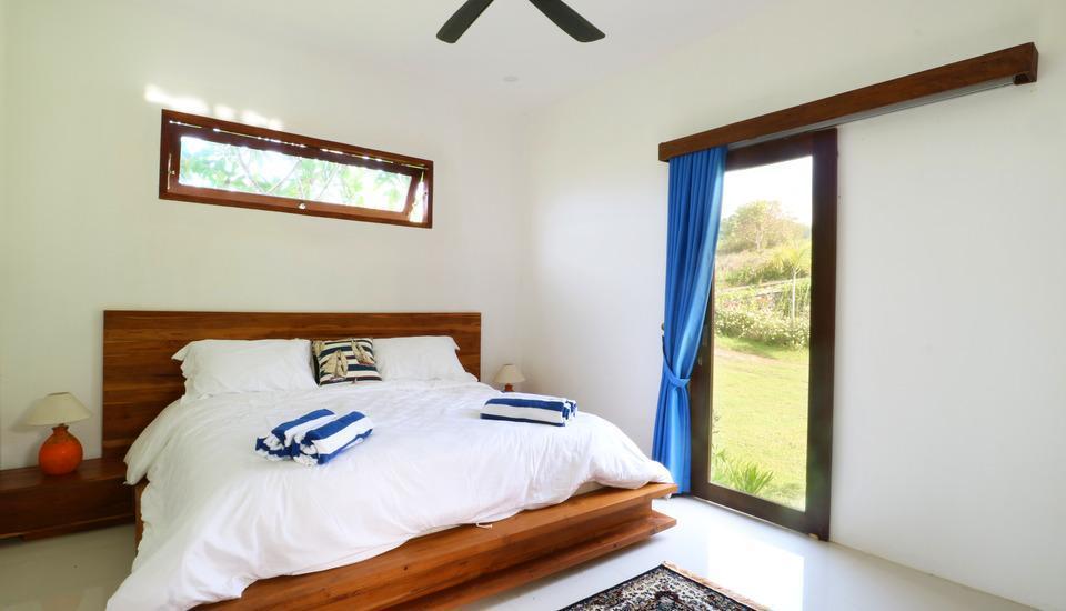 Villa Nambung Lombok - Double Bed Garden View