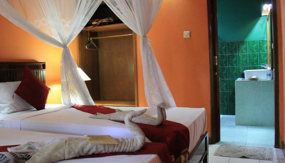 Kubuku Ecolodge and Resto Bali - Standard Fan with twin bed Menginap minimum 2 malam