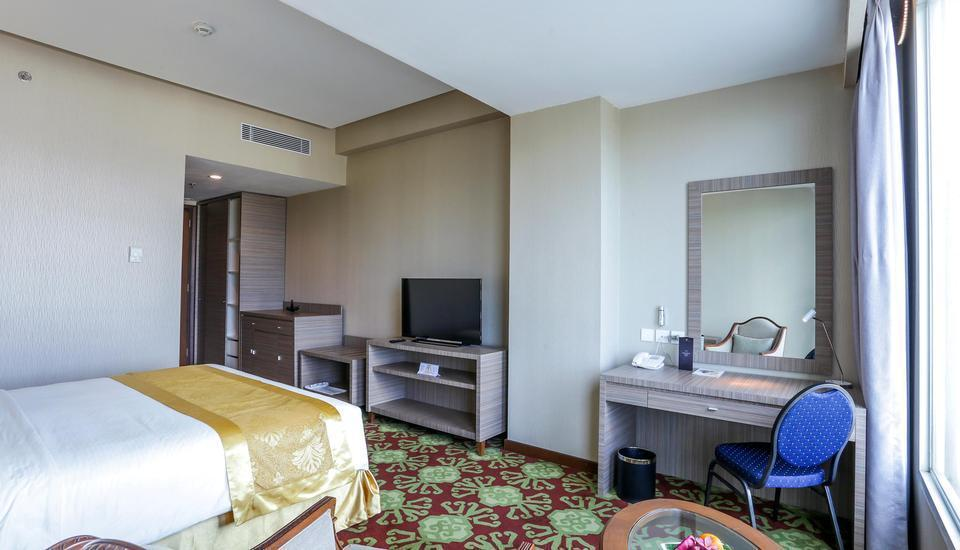 Selyca Mulia Hotel and Shopping Center Samarinda - Kamar Deluxe Double