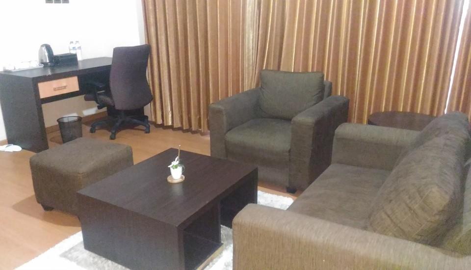 Hotel Prima Batola Banjarmasin - Ruang tamu