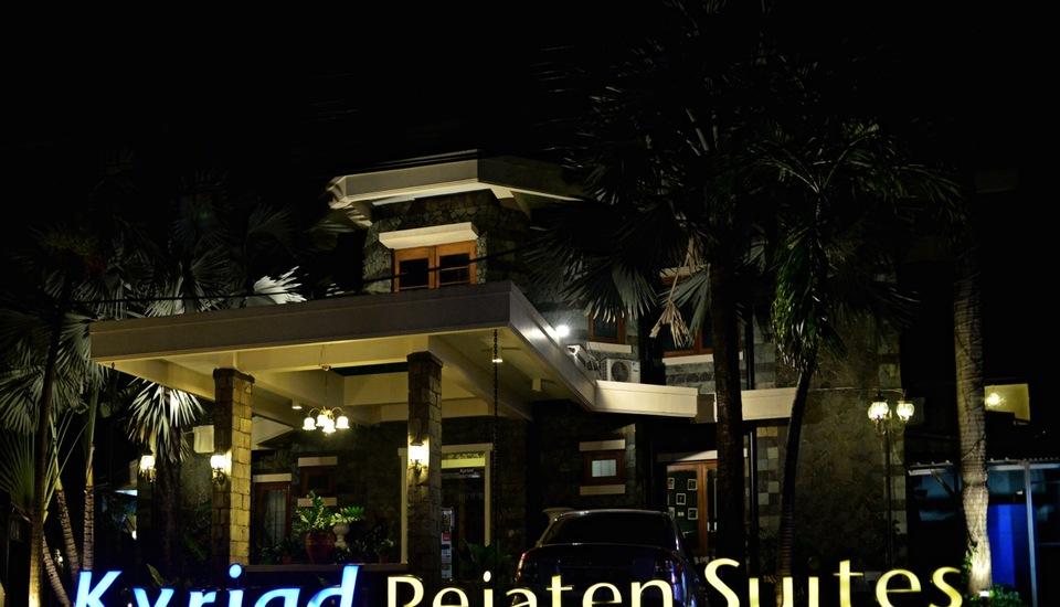 Kyriad Pejaten Suites Jakarta - Ruangan Depan
