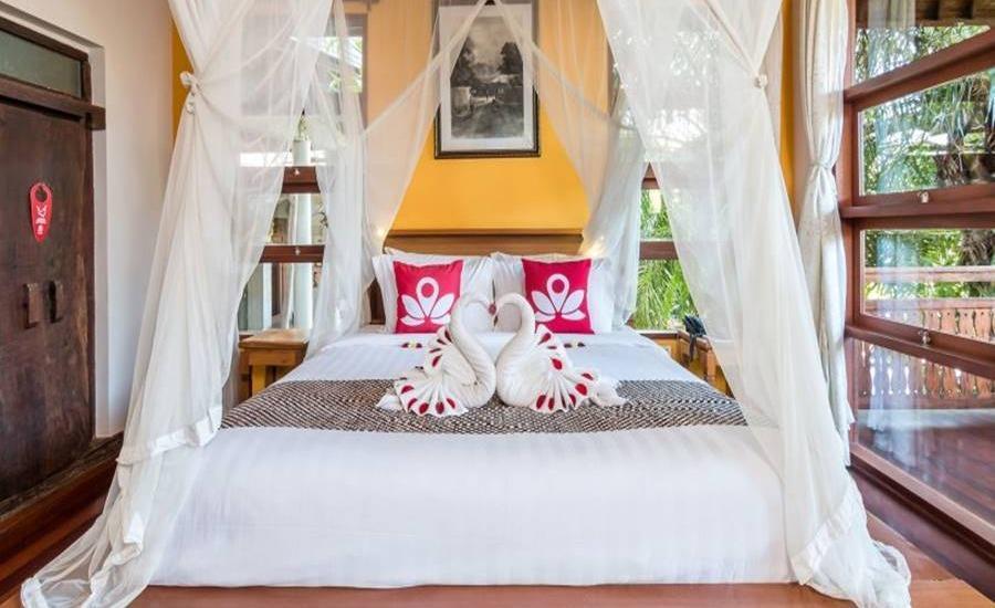 ZEN Villa Tebongkang Ubud - Kamar tamu
