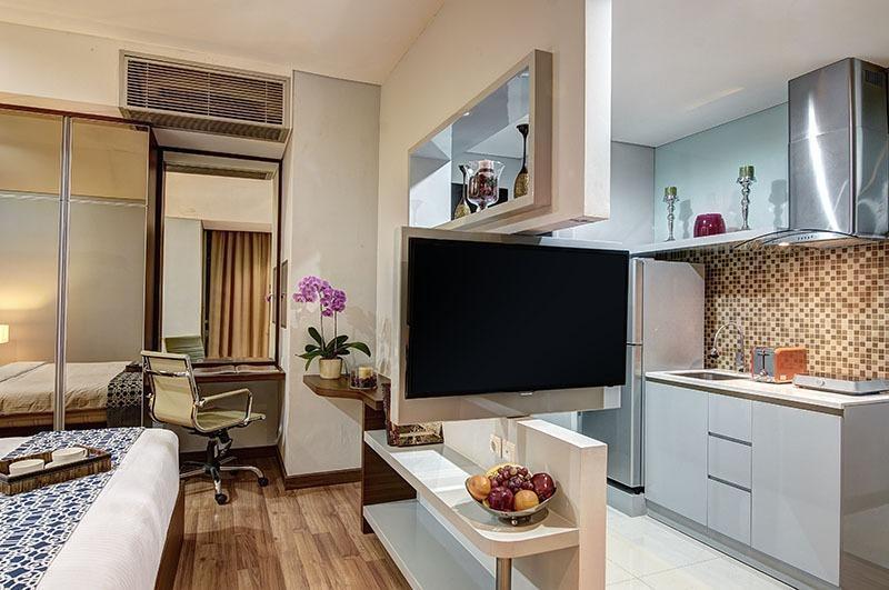 Sampit Residence Jakarta - desain kamar yang cerdas