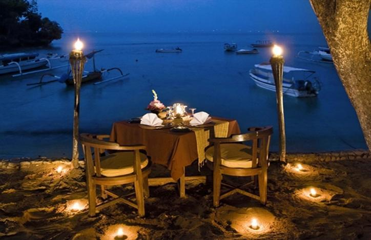 NusaBay Hotel Bali - Romantic Dinner