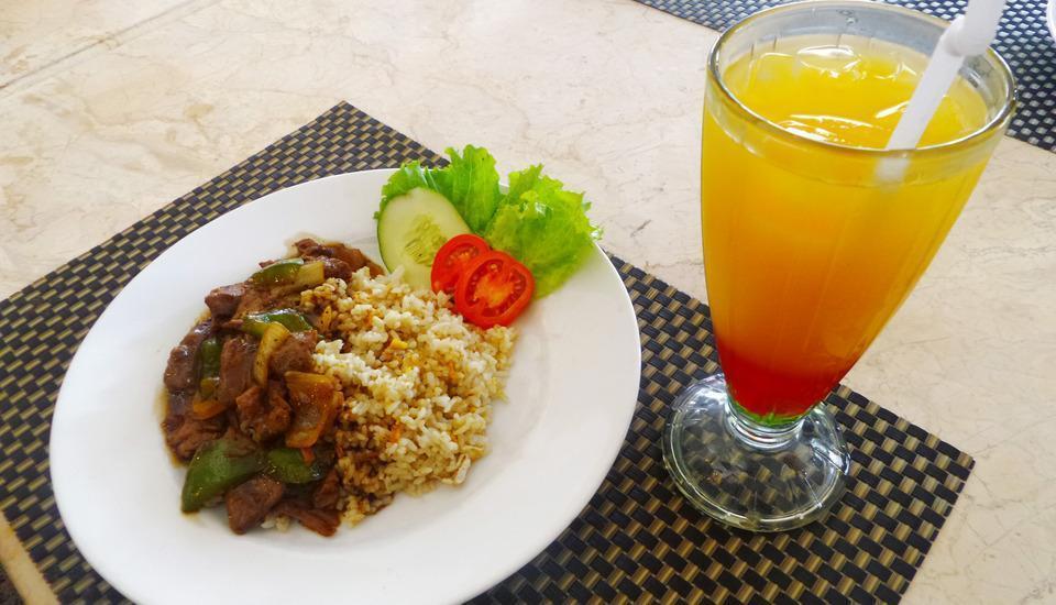 Hotel Banjarmasin Banjarmasin - Nasi daging sapi lada hitam