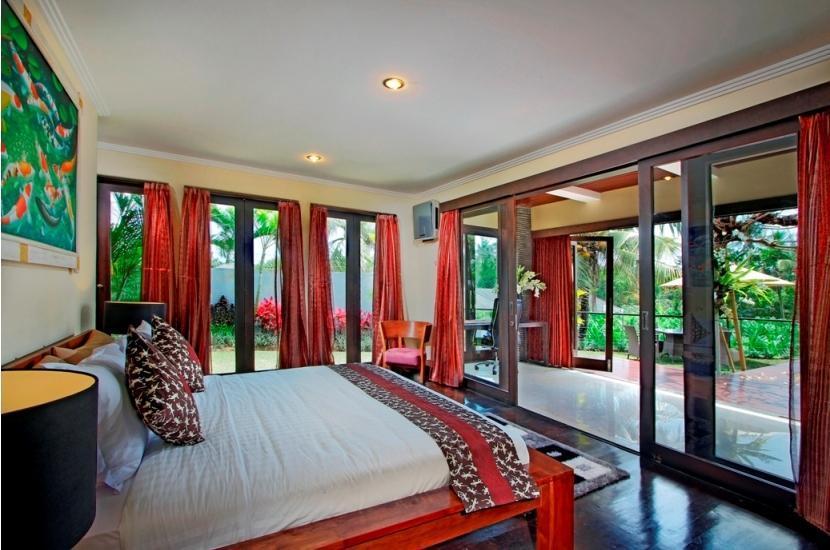 The Bale Tokek Villa Bali - Kamar tidur