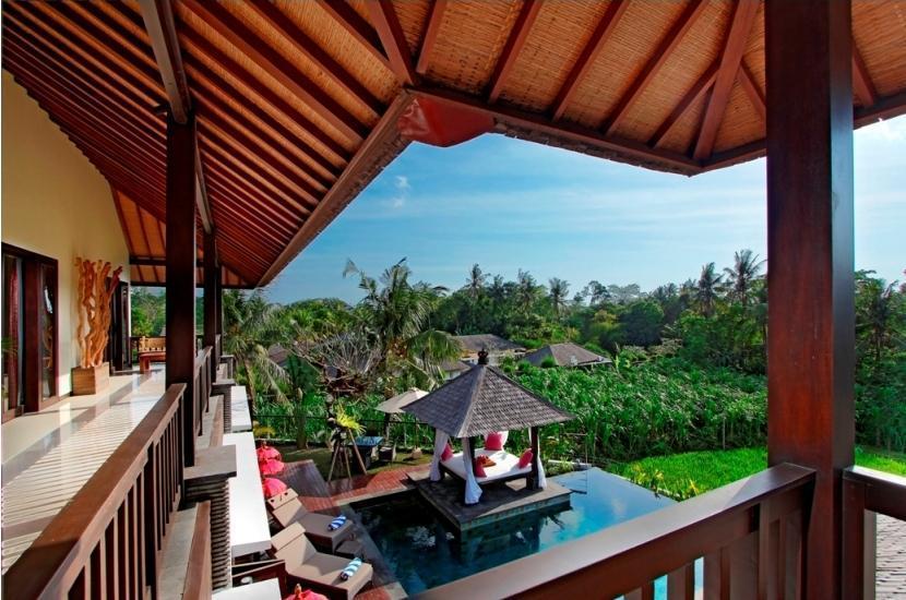 The Bale Tokek Villa Bali - balkon
