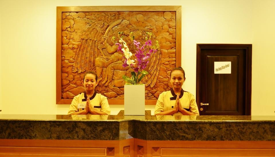 Hotel Orchid Wonosari - Resepsionis Hotel Orchid Wonosari. Resepsionis 24 jam