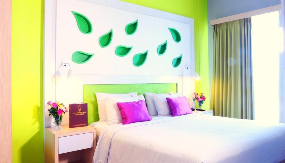 Shakti Hotel Bandung - Deluxe Double Room Only Regular Plan
