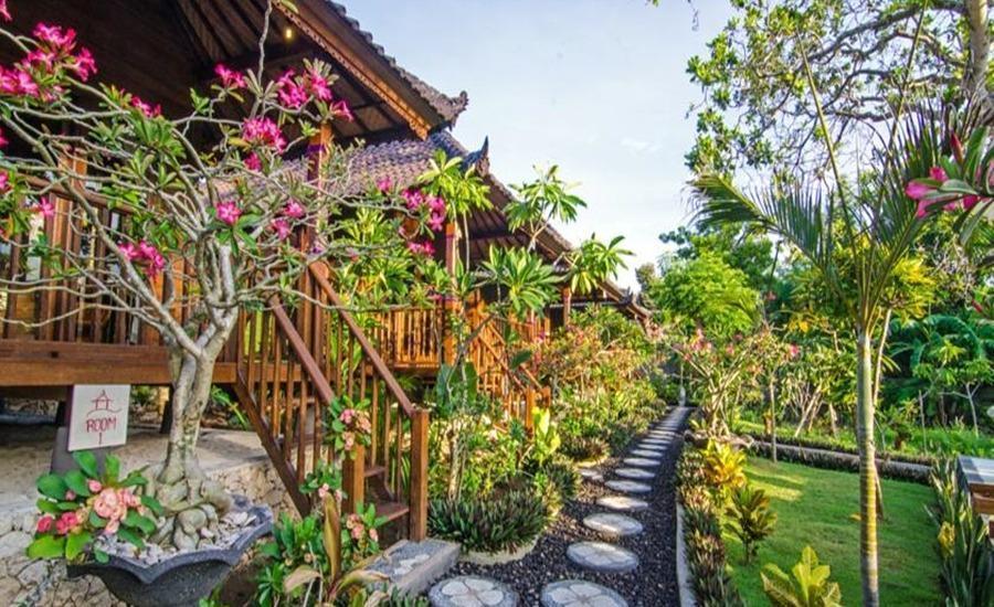 Cassava Bungalow Bali - Taman