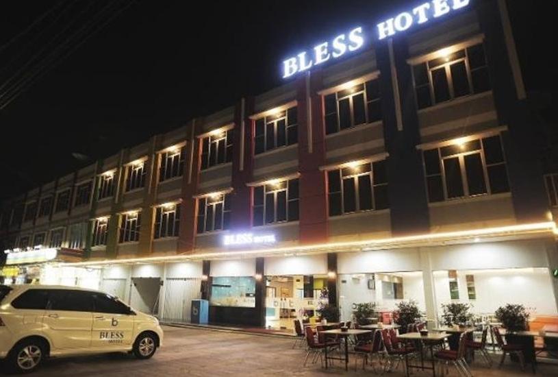 Bless Hotel Palembang - Eksterior