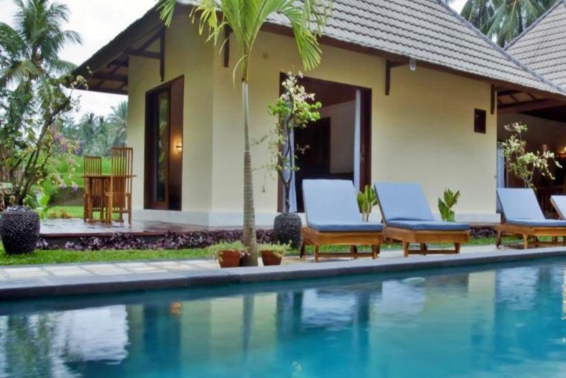 Junjungan Suite Villa Bali - Kolam Renang