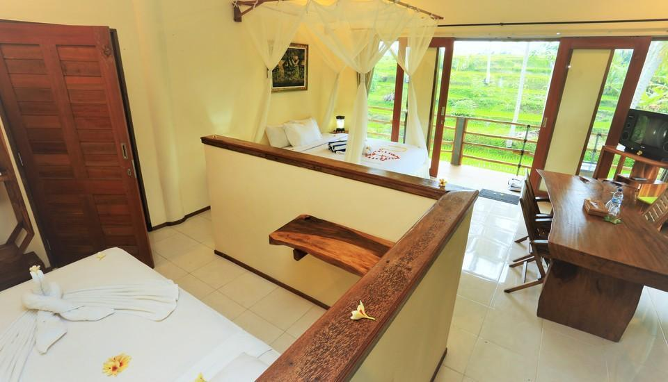 Junjungan Suite Villa Bali - Deluxe Room Regular Plan