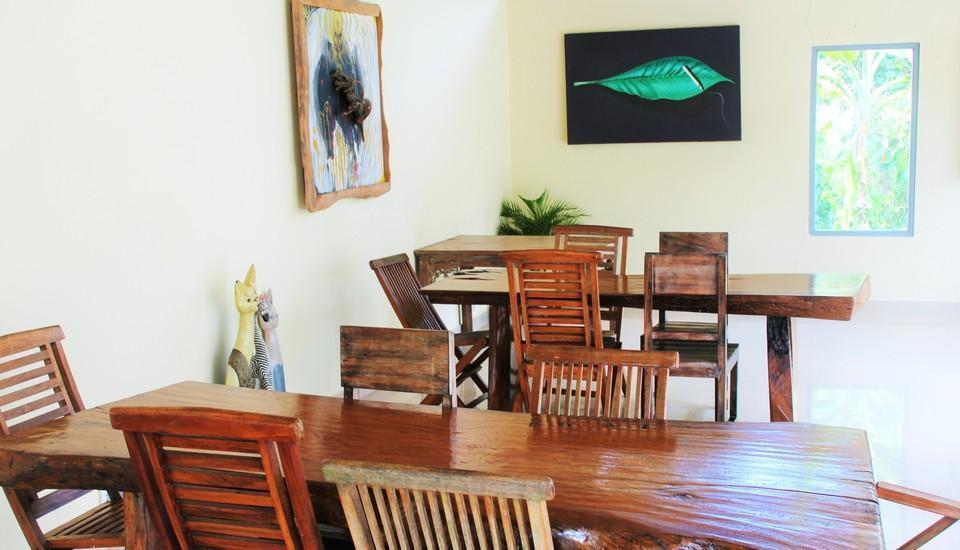 Junjungan Suite Villa Bali - Restoran