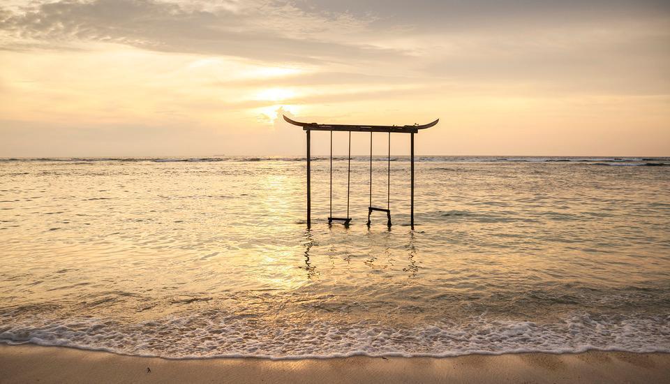 Pandawa Beach Villas & Resort Lombok - ayunan pantai