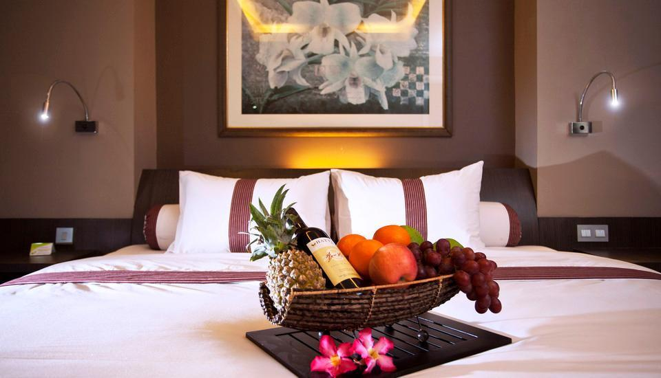 Sun Boutique Hotel Bali - Deluxe Room PROMO 50 % : FREE 1 X PICK UP OR DROP OFF AIRPORT.