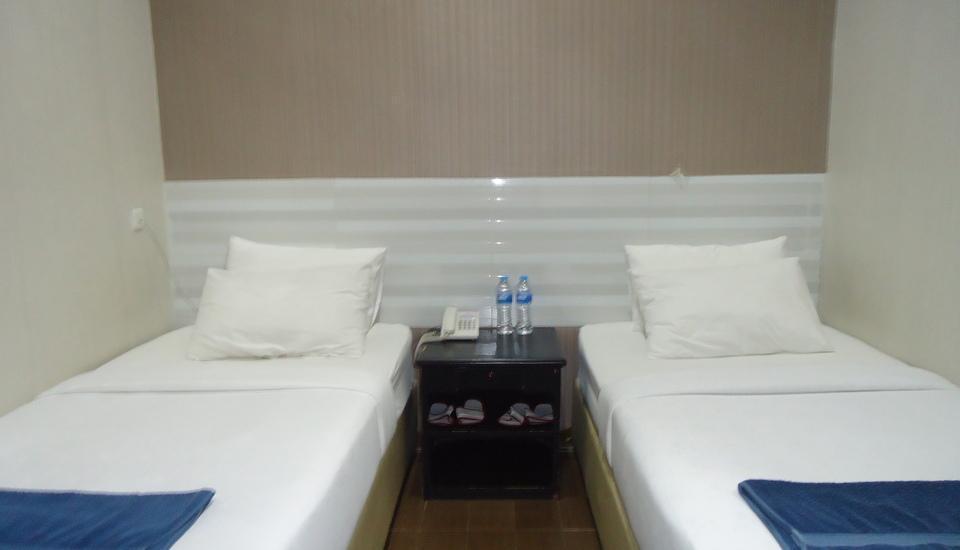 Hotel Flamengo Serang - Tempat tidur Twin