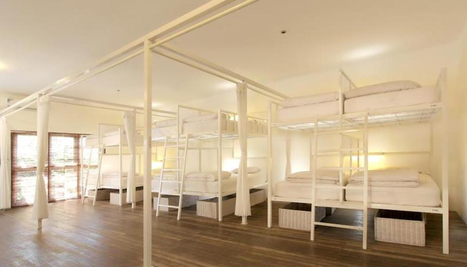 The Island Hotel Bali Bali - Single Bed Mixed Dormitory Room - Tarif untuk 1 Orang Special Promo - Non Refund