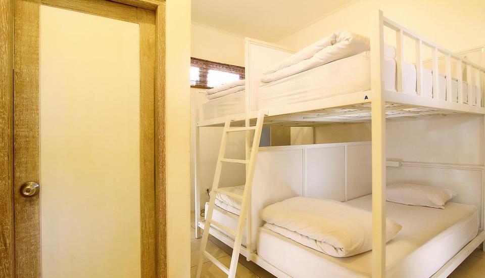 The Island Hotel Bali Bali - Bed in 4 Bed Dormitory Room - Tarif untuk 1 Orang Regular Plan