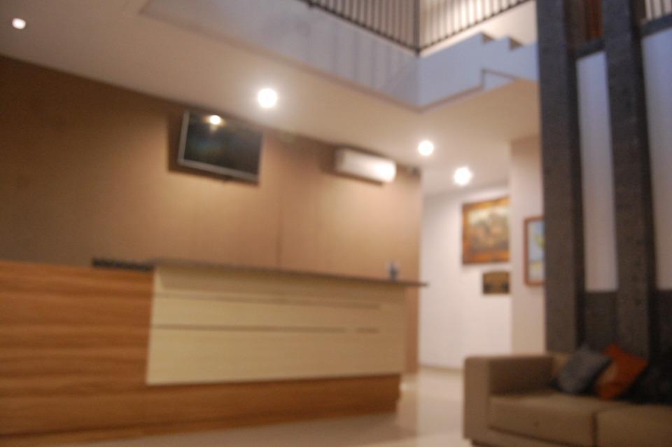 Dhyanapura City Hotel Bali - Kantor Depan