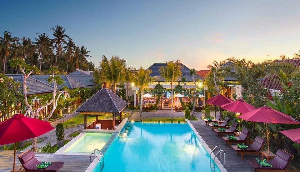 Lumbini Luxury Villas and Spa Bali - Kolam Renang Utama