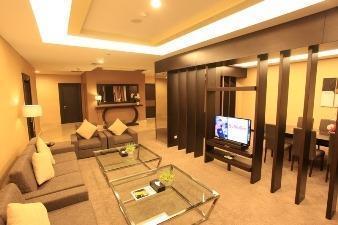 Grand Clarion Kendari - Living Room President Suite