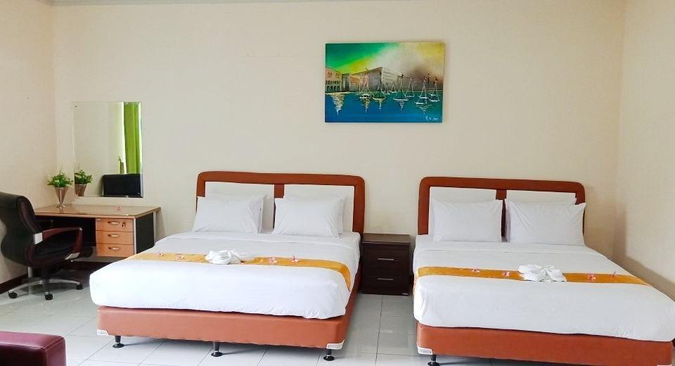 Allisa Resort Anyer - Family Room Village View Regular Plan