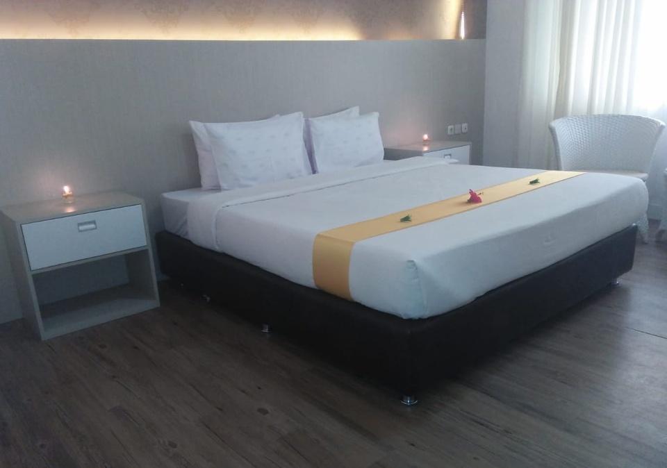 Allisa Resort Anyer - kamar tidur