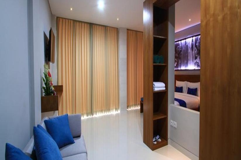 Bakung Ubud Resort and Villa Bali - Ruang tamu