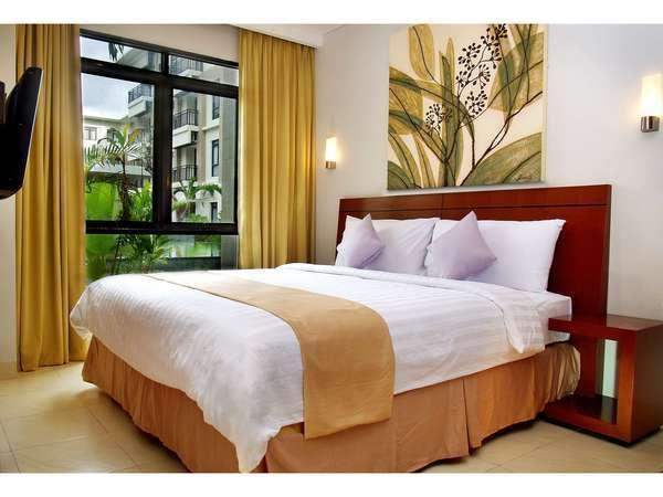 Grand Kuta Hotel Bali - Grand Deluxe Room 2 Bedrooms ( For 3 Persons ) Regular Plan