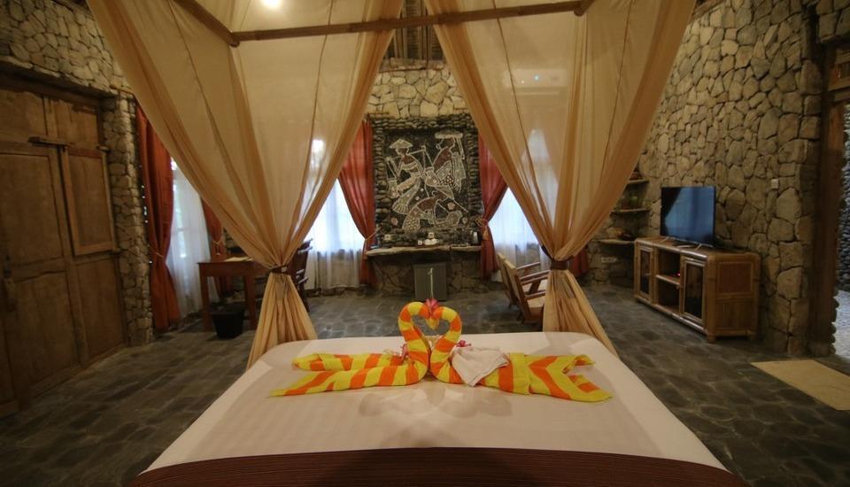 Rajaklana Resort Villa And Spa Jogja - Bedroom