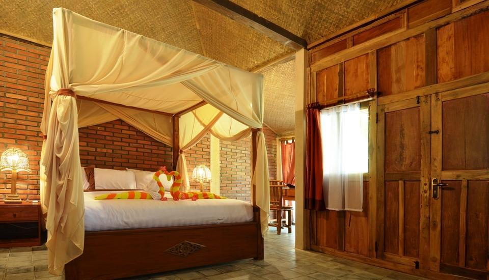 Rajaklana Resort Villa And Spa Jogja - Wooden House All inclusions Transportation or Dinner Inclusions