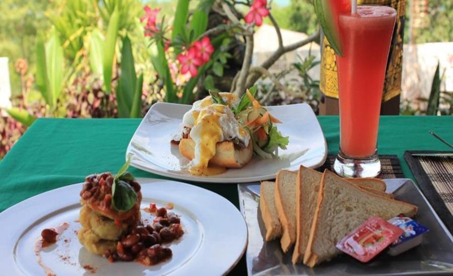 Dmas Huts Lembongan Bali - Makanan dan minuman
