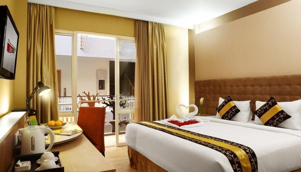 Rivavi Kuta Beach Hotel Bali - Gold Deluxe with Balcony/KING