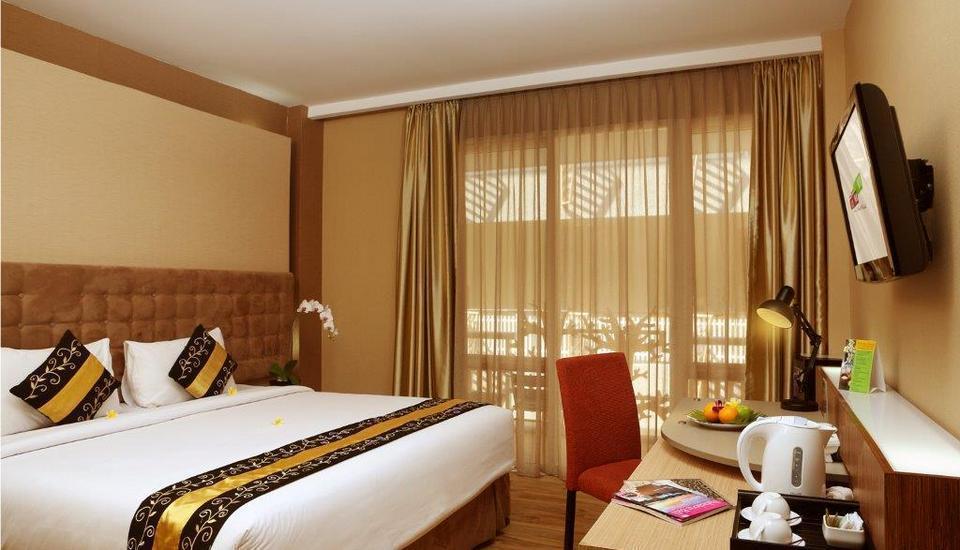 Rivavi Kuta Beach Hotel Bali - Kamar tidur