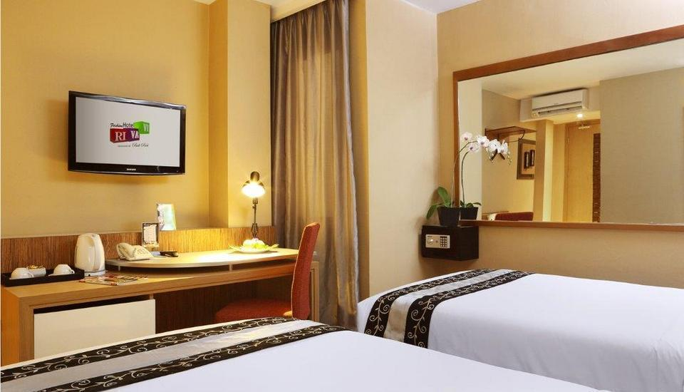 Rivavi Kuta Beach Hotel Bali - Gold Deluxe Room Only Basic Deal Promotion