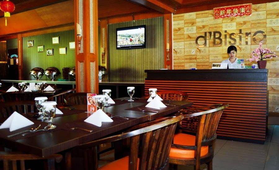 Sanghyang Indah Spa resort Banten - Restoran D'Bistro