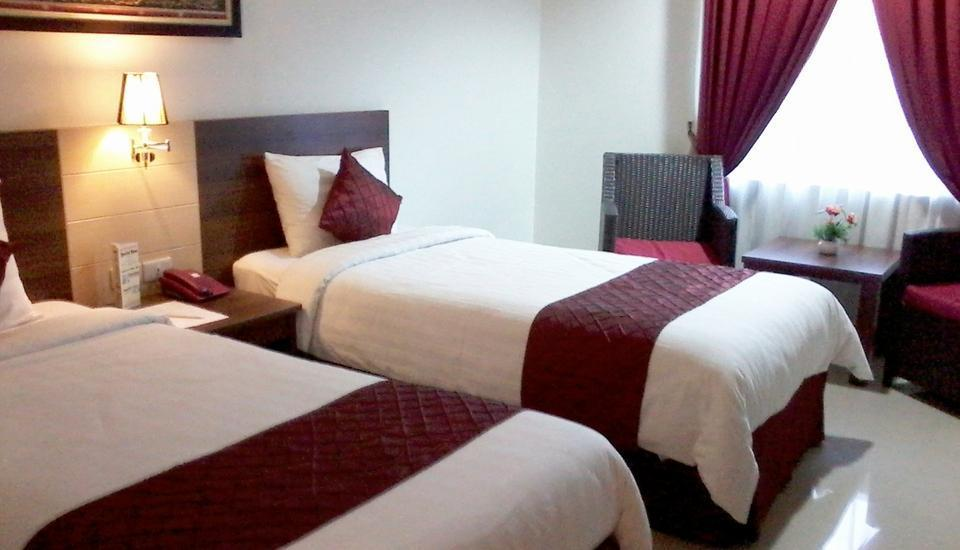 Hotel Bandara Syariah  Bandar Lampung - Kamar tamu
